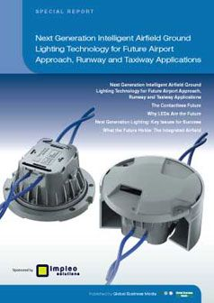 Next Generation Intelligent Airfield Ground Lighting Technology for Future Airport Approach, Runway and Taxiway Applications