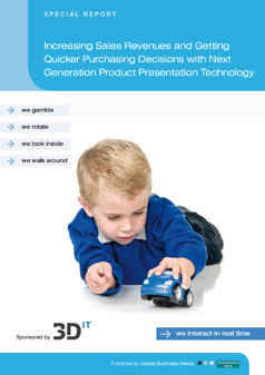 Increasing Sales Revenues and Getting Quicker Purchasing Decisions with Next Generation Product Presentation Technology