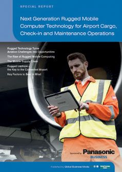 Next Generation Rugged Mobile Computer Technology for Airport Cargo, Check-In and Maintenance Operations