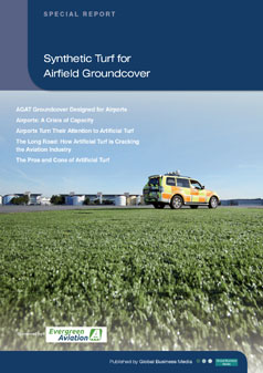 Synthetic Turf for Airfield Groundcovery